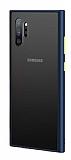 Dafoni Union Samsung Galaxy Note 10 Plus Ultra Koruma Lacivert Kılıf