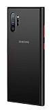 Dafoni Union Samsung Galaxy Note 10 Plus Ultra Koruma Siyah Kılıf