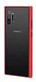Dafoni Union Samsung Galaxy Note 10 Plus Ultra Koruma Kırmızı Kılıf