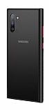 Dafoni Union Samsung Galaxy Note 10 Ultra Koruma Siyah Kılıf