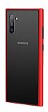Dafoni Union Samsung Galaxy Note 10 Ultra Koruma Kırmızı Kılıf