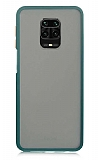 Dafoni Union Xiaomi Redmi Note 9S Ultra Koruma Yeşil Kılıf