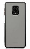 Dafoni Union Xiaomi Redmi Note 9S Ultra Koruma Siyah Kılıf