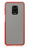 Dafoni Union Xiaomi Redmi Note 9S Ultra Koruma Kırmızı Kılıf