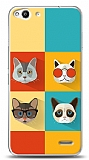 Vodafone Smart 6 Four Cats Kılıf