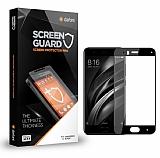 Dafoni Xiaomi Mi 6 Curve Tempered Glass Premium Full Siyah Cam Ekran Koruyucu