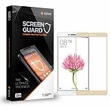 Dafoni Xiaomi Mi Max / Mi Max 2 Tempered Glass Premium Gold Full Cam Ekran Koruyucu