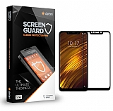 Dafoni Xiaomi Pocophone F1 Tempered Glass Premium Full Siyah Cam Ekran Koruyucu