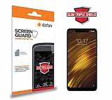Dafoni Xiaomi Pocophone F1 Slim Triple Shield Ekran Koruyucu