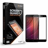 Dafoni Xiaomi Redmi Note 4X Curve Tempered Glass Premium Full Siyah Cam Ekran Koruyucu
