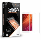 Dafoni Xiaomi Redmi Note 5A / Note 5A Prime Curve Tempered Glass Premium Beyaz Full Cam Ekran Koruyucu