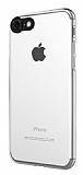 Dafoni Zeppelin iPhone 7 Kamera Korumalı Şeffaf Silikon Kılıf