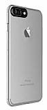Dafoni Zeppelin iPhone 7 Plus / 8 Plus Kamera Korumalı Şeffaf Silikon Kılıf