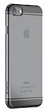 Devia Glimmer 2 iPhone 7 Siyah Kenarl� �effaf Rubber K�l�f