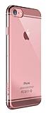Devia Glimmer 2 iPhone 7 Rose Gold Kenarl� �effaf Rubber K�l�f