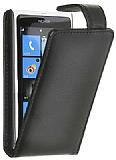 Doormoon Nokia Lumia 920 Siyah Kapakl� Deri K�l�f