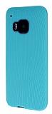 Eiroo Air Spring HTC One M9 �izgili Ye�il Silikon K�l�f