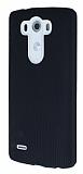 Eiroo Air Spring LG G3 Çizgili Siyah Silikon Kılıf
