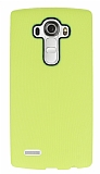 Eiroo Air Spring LG G4 Çizgili Sarı Silikon Kılıf