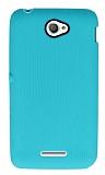 Eiroo Air Spring Sony Xperia E4 Çizgili Yeşil Silikon Kılıf