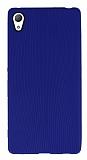 Eiroo Air Spring Sony Xperia Z3 Plus Çizgili Mavi Silikon Kılıf
