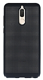 Eiroo Air To Dot Huawei Mate 10 Lite Delikli Siyah Rubber Kılıf