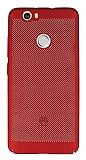 Eiroo Air To Dot Huawei Nova Delikli Kırmızı Rubber Kılıf