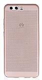 Eiroo Air To Dot Huawei P10 Delikli Rose Gold Rubber Kılıf