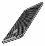 Eiroo Air To Dot Huawei P9 Lite 2017 Delikli Gri Rubber Kılıf