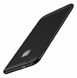 Eiroo Air To Dot Huawei P9 Lite 2017 Delikli Siyah Rubber Kılıf