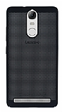 Eiroo Air To Dot Lenovo Vibe K5 Note Delikli Siyah Rubber Kılıf