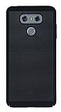 Eiroo Air To Dot LG G6 Delikli Siyah Rubber Kılıf