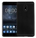 Eiroo Air To Dot Nokia 6 Delikli Siyah Rubber Kılıf