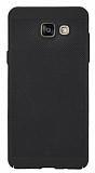Eiroo Air To Dot Samsung Galaxy A3 2016 Delikli Siyah Rubber Kılıf