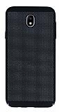 Eiroo Air To Dot Samsung Galaxy J3 2017 Delikli Siyah Rubber Kılıf