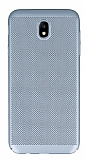 Eiroo Air To Dot Samsung Galaxy J5 Pro 2017 Delikli Silver Rubber Kılıf