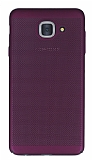 Eiroo Air To Dot Samsung Galaxy J7 Max Delikli Mor Rubber Kılıf