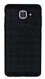 Eiroo Air To Dot Samsung Galaxy J7 Max Delikli Siyah Rubber Kılıf