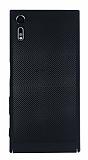 Eiroo Air To Dot Sony Xperia XZ Delikli Siyah Rubber Kılıf
