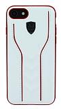 Eiroo AJ Casual iPhone 7 / 8 Deri Beyaz Rubber Kılıf