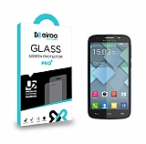 Eiroo Alcatel One Touch Pop C7 Tempered Glass Cam Ekran Koruyucu