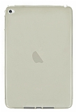 Eiroo Apple iPad mini 4 Ultra �nce �effaf Gold Silikon K�l�f