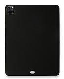 Eiroo Apple iPad Pro 12.9 2020 Siyah Silikon Kılıf