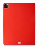 Eiroo Apple iPad Pro 12.9 2020 Kırmızı Silikon Kılıf