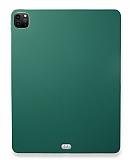 Eiroo Apple iPad Pro 12.9 2020 Yeşil Silikon Kılıf