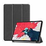 Eiroo Apple iPad Pro 12.9 2020 Slim Cover Siyah Kılıf