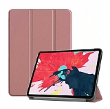 Eiroo Apple iPad Pro 12.9 2020 Slim Cover Rose Gold Kılıf