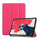 Eiroo Apple iPad Pro 12.9 2020 Slim Cover Pembe Kılıf