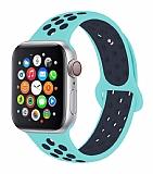 Eiroo Apple Watch / Watch 2 / Watch 3 Yeşil Spor Kordon (42 mm)