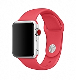 Eiroo Apple Watch Kırmızı Spor Kordon (38 mm)